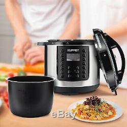1000W 14-in-1 Electric Pressure Cooker 6-Quart Multi-Functional Smart Home WIFI