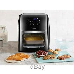 12.5 Quart Digital Air Fryer with Rotisserie, Dehydrator, Convection Oven 1700W