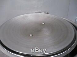3 Pieces All-Clad 8 Qt Stock Pot & 3 Quart Skillet Lid Fits Both