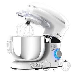 6.3 Quart Kitchen Use Tilt-Head Stand Mixer House Assistant 6 Speed 660W White