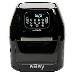 6-Quart Power Air Fryer Oven Plus 7-in-1 Cooking Features with Dehydrator and Ro