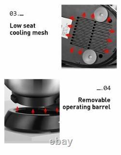 600 Super Big Capacity 6-Quart Pro Stand Mixer SC-216, Black KitcHen aid Zhoutu