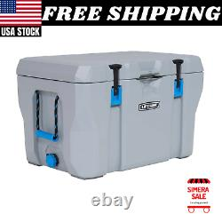 77 Quart High Performance Cooler Grey, 90903 Durable Stainless Steel Hinge