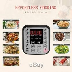 A+ Quality 6 Quart Electric Pressure Cooker Home Kitchen 7-in-1 instant pot NEW