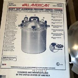 ALL AMERICAN 25 Quart 925 Pressure Cooker Canner