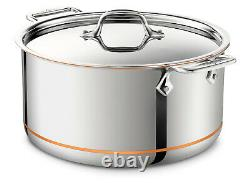 ALL-CLAD 6508 SS Copper Core Stainless Steel 8-Quart Stockpot- FACTORY SECONDS