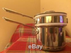 ALL-CLAD Copper Core 1 1/2 Quart Double Boiler New without Box Display Model