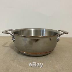 ALL-CLAD Copper Core 2.5 Quart Rice Bean and Grain Pot New no lid no box