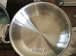 ALL-CLAD Copper Core 4 Quart ESSENTIAL PAN & LID NEW witho Box (Display Model)