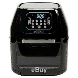 Air Fryer Oven 6 Quart All-In-One Dehydrator Pro 8 Digital Function Rotisserie