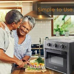 Air Fryer Toaster Oven 5-IN-1 Convection Toaster Oven 19 Quart Stainless Steel