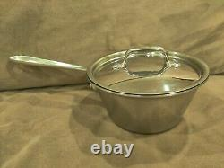 All-Clad 1.5 Quart Windsor Pan Stainless Tri-Ply With Lid Rare! NR