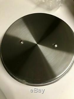 All Clad 3 Qt Quart Sauce pan D3 Stainless Steel NIB w lid & warranty Made/USA