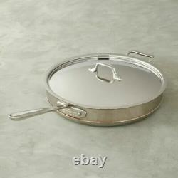 All-Clad Copper Core 6-Quart Saute Pan with Lid 6406 SS NEW IN BOX