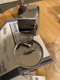 All-Clad D3 1.5-Quart Saucepan-4201.5 NEW In Box