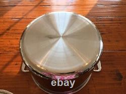 All Clad D3 Tri-ply Stainless-Steel 12 Quart Stock Pot with Lid