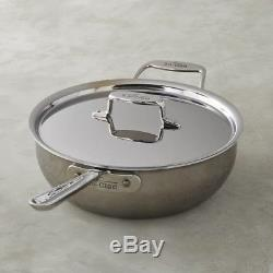 All Clad D5 Stainless Steel 6 Quart Essential Pan SD551213 NIB