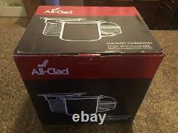 All-Clad Gourmet Accessories 12 Quart Multi-Cooker withTwo Steamer Baskets + Lid
