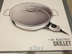 All-Clad Non-Stick 7-Quart Electric Skillet SK492D50 1800 Watts NEW IN BOX