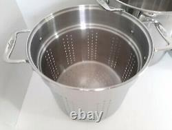 All-Clad Stainless Steel 12-Quart Multi-Cooker w Strainers