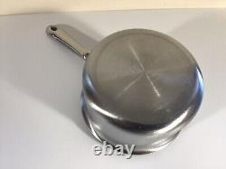 All-Clad d5 Stainless-Steel Saucepan + Lid 1 1/2 quart