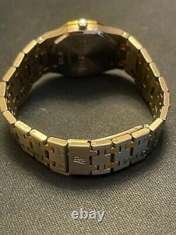Audemars Piguet AP Royal Oak Quart 18K Gold & Stainless Steel 23-26MM Watch