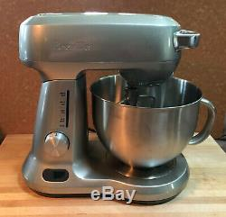 BREVILLE Bakery Chef 5 quart stand mixer with stainless steel bowl & attachments