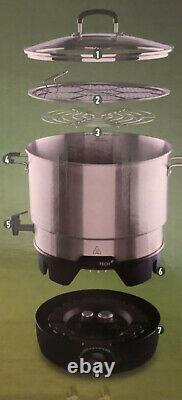 Ball FreshTech Electric Water Bath Canner 21-Quart (19.8L) Capacity New