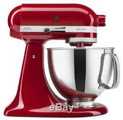 Brand New KitchenAid Artisan KSM150PSER 5Quart Mixer Empire Red