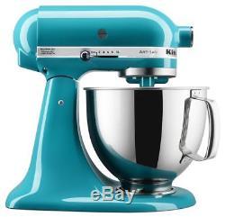 Brand New KitchenAid KSM150PSON Artisan Stand Mixer 5 Quart Ocean Drive