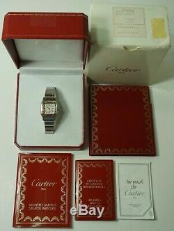 Cartier Santos Ladies 9212 Two-tone 18k/ss Quarts 24mm