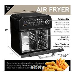 ChefWave 12.6 Quart Air Fryer Oven with Dehydrator and Rotisserie