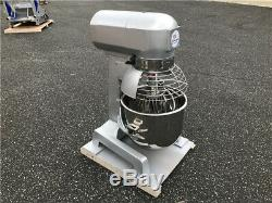 Commercial Food Mixer 20 Quart Dough Three Speed Bakery 120v Stainless Steel