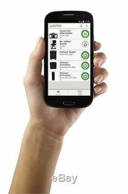Crock-Pot SCCPWM600-V2 Wemo Smart Wifi-Enabled Slow Cooker, 6-Quart