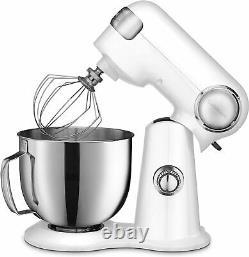 Cuisinart Precision Master 5.5-Quart 12-Speed Stand Mixer White