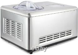DELLA Ice Cream Maker 2.2 quart Automatic Frozen Ice Cream Timer Function Fast