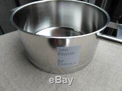 Demeyere Stainless Steel 4.2 Quart Dutch Oven John Pawson