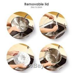Electric Pressure Cooker Multi-function 8 Quarts 1250W Stainless Steel Yogurt UL