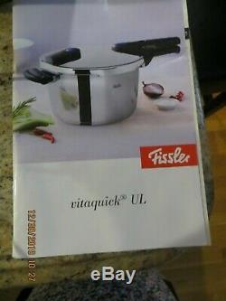 Fissler Stainless Steel Vitaquick Pressure Cooker 8.5 Quart