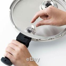 Fissler Vitaquick 4.8-Quart Stainless Steel Pressure Cooker NEW