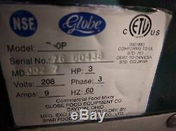 Globe SP60 60 Quart Floor Mixer #828-829
