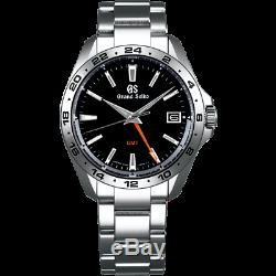 Grand Seiko Sport Collection 9F Quarts GMT 39mm Watch With Black Dial SBGN003
