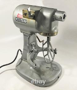 Hobart N50 Commercial Mixer, Gear-Driven, 3-Speed, 5 Quart, Gray N-50 +paddle