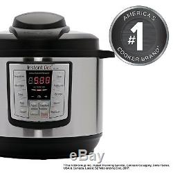 Instant Pot 8 Quart 6 in 1 Programmable Pressure Cooker Instapot 1000W V3