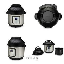 Instant Pot Duo Crisp and Air Fryer, 6 Quart 11-in-1 One-Touch Multi-Use Program
