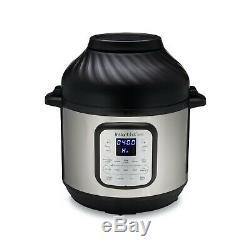 Instant Pot Duo Crisp and Air Fryer 6 Quart 11-in-1 Programmable Pressure Cooker