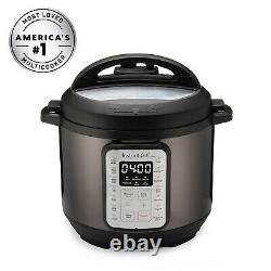 Instant Pot VIVA Black Stainless 6-Quart 9-in-1 Multi-Use Programmable Pressure