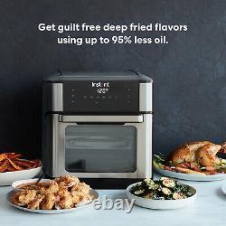 Instant Vortex Plus 10 Quart Air Fryer Oven Stainless Steel New