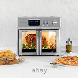 Kalorik 26 Quart Digital MAXX Air Fryer Oven, Stainless Steel, AFO 46045 SS
