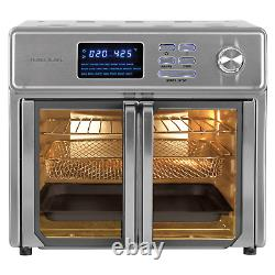 Kalorik 26-Quart Digital Max Air Fryer Oven Rotisserie Bake Cooker Fast Cook NEW